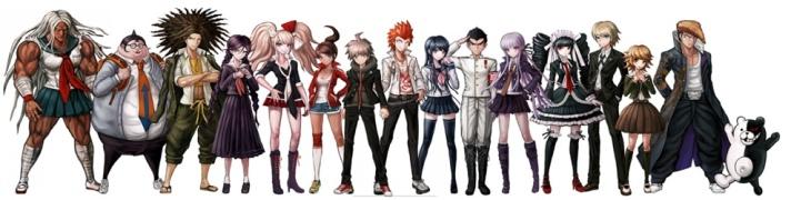 danganronpa-characters