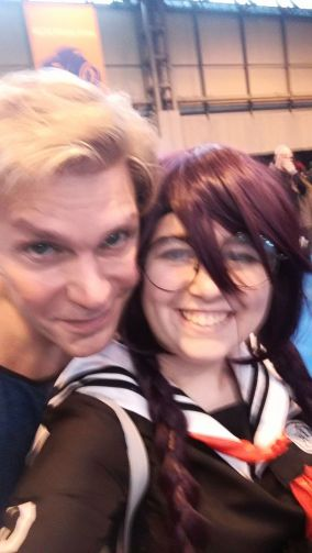 Meeting Vic Mignogna (March 2017)